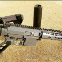 hippcustoms #300blackout #sbr with all the #bellsandwhistles.