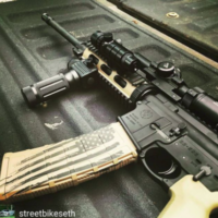 Another #repeatcustomer #posting a pic of some #custom #cerakote